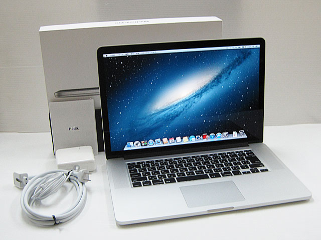 MacBook Pro Core i7 2.6GHz 15.4インチ(RetinaDisplay)