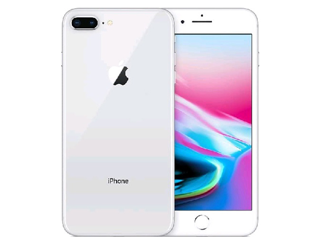 iPhone 8 Plus 64GB Silver MQ9L2J/A au版 SIMロック解除