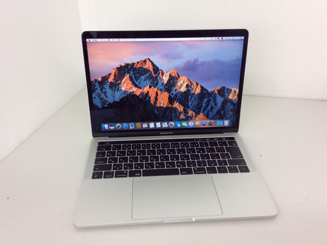 MacBook Pro Core i7 3.5GHz 13インチ(TouchBarモデル) Silver